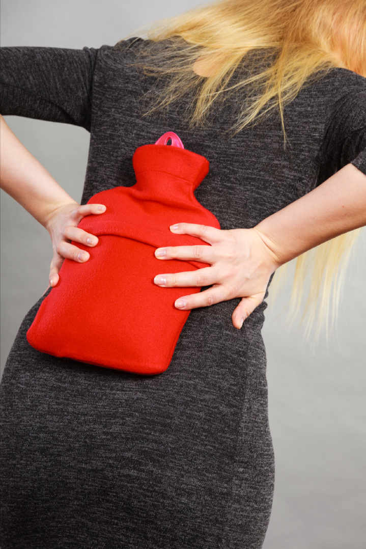 Ice or Heat. What helps with your lower back pain?