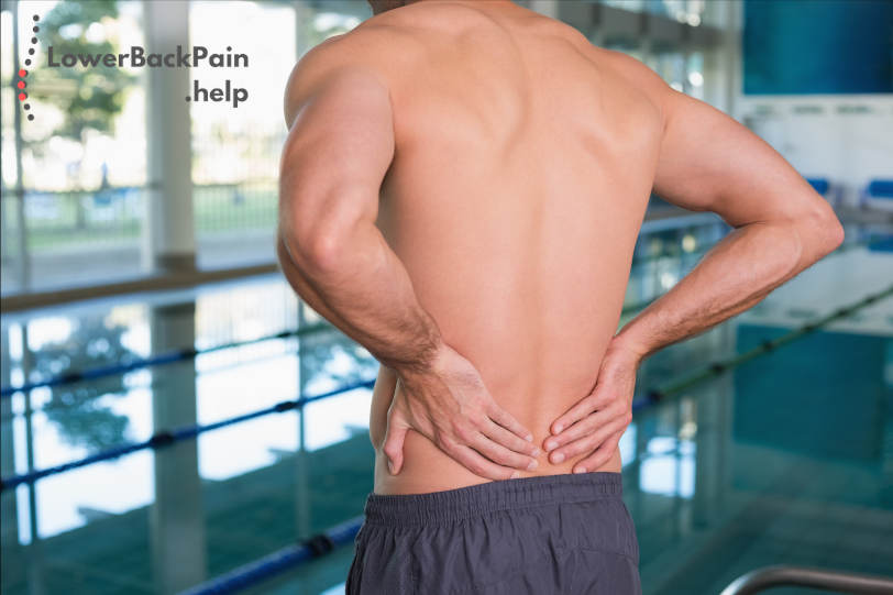 Swimming for lower back pain